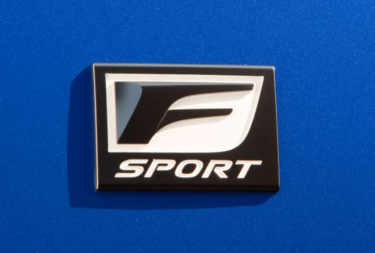 lexus is 350f sport emblem 11