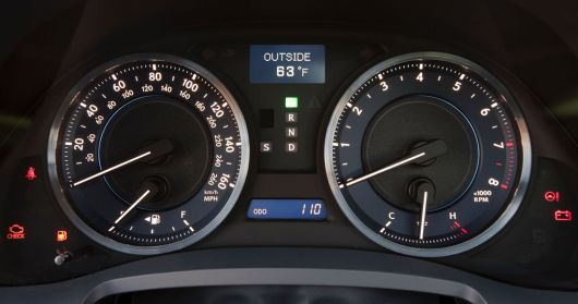 lexus is 350f sport gauge cluster 11