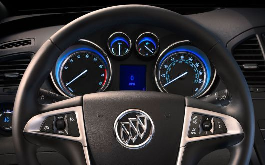 buick regal eassist gauge cluster 12