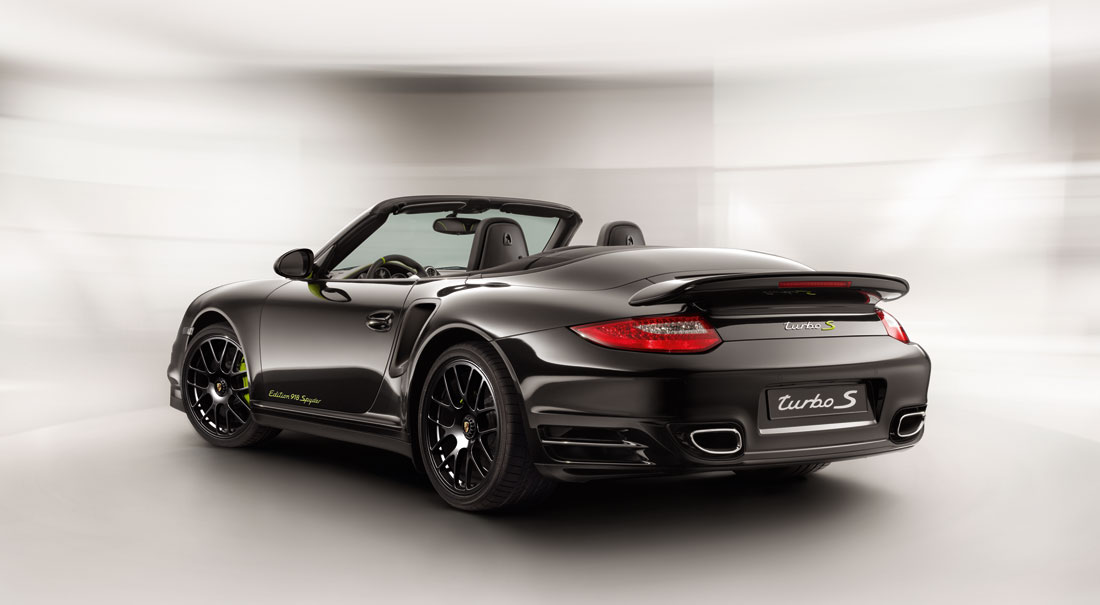 porsche 911 turbo s edition 918 spyder cabriolet 2011 cartype. Black Bedroom Furniture Sets. Home Design Ideas