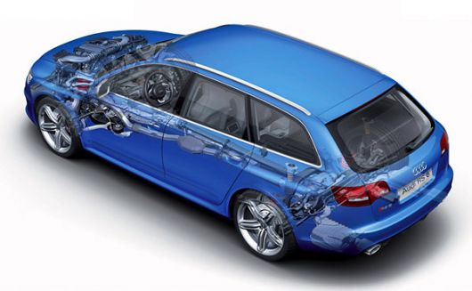 audi rs6 avant cut away 10