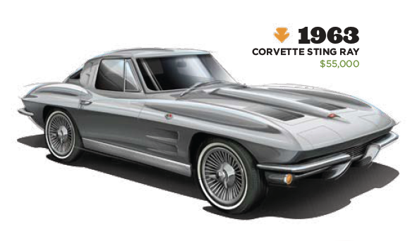 Etienne carignan and the playboy garage cartype for 1964 corvette stingray split window