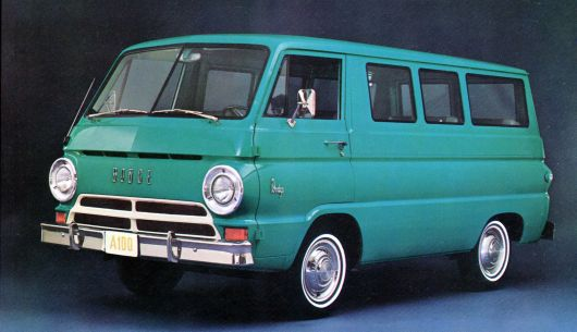 dodge a100 sportsman van 64