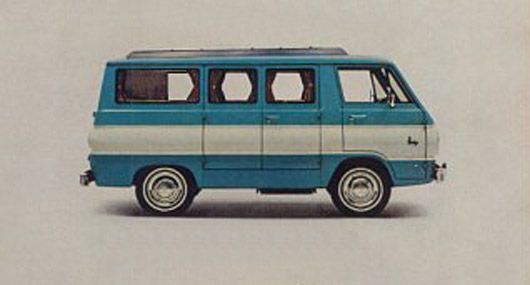 dodge camp wagon camper van 64