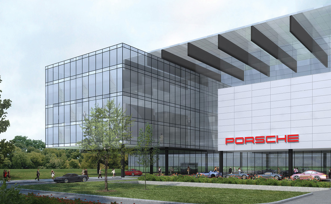 Porsche to build new u s headquarters in atlanta cartype for New building design
