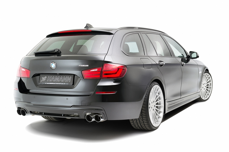 Hamann Accessory Range For The Bmw 5 Series Touring Cartype