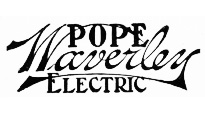 pope waverley electric logo