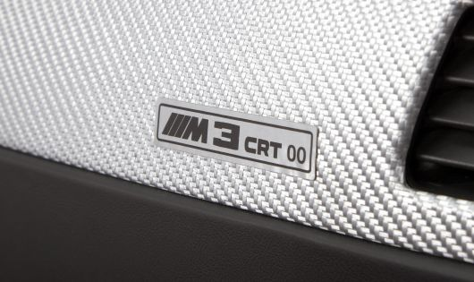 bmw m3 crt interior badge 11