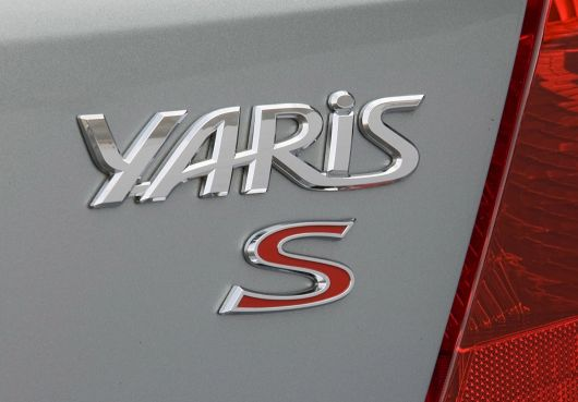 toyota yaris s 5 door hatchback emblem 11