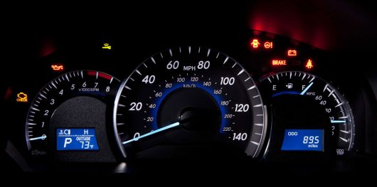 toyota camry xle gauge cluster 12