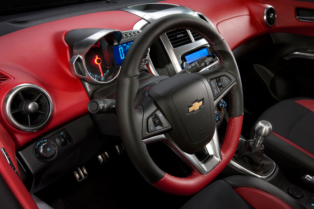 chevrolet small cars go big at sema cartype. Black Bedroom Furniture Sets. Home Design Ideas
