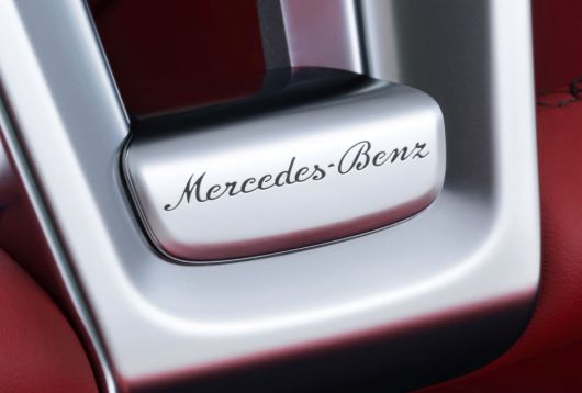 mercedes benz sl steering wheel emblem 13