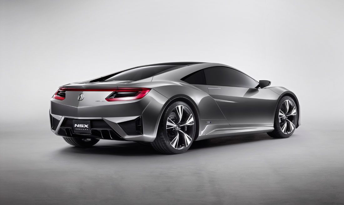 2012 Acura NSX Concept to Appear at 2012 Detroit Auto Show - 2012 ...