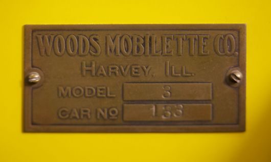 woods mobilette plaque 1
