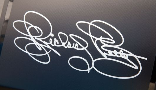 richard petty signature