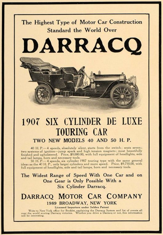 darracq 6 cyl touring car ad 07