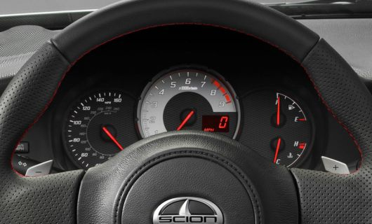 scion fr s sports coupe gauge cluster 13