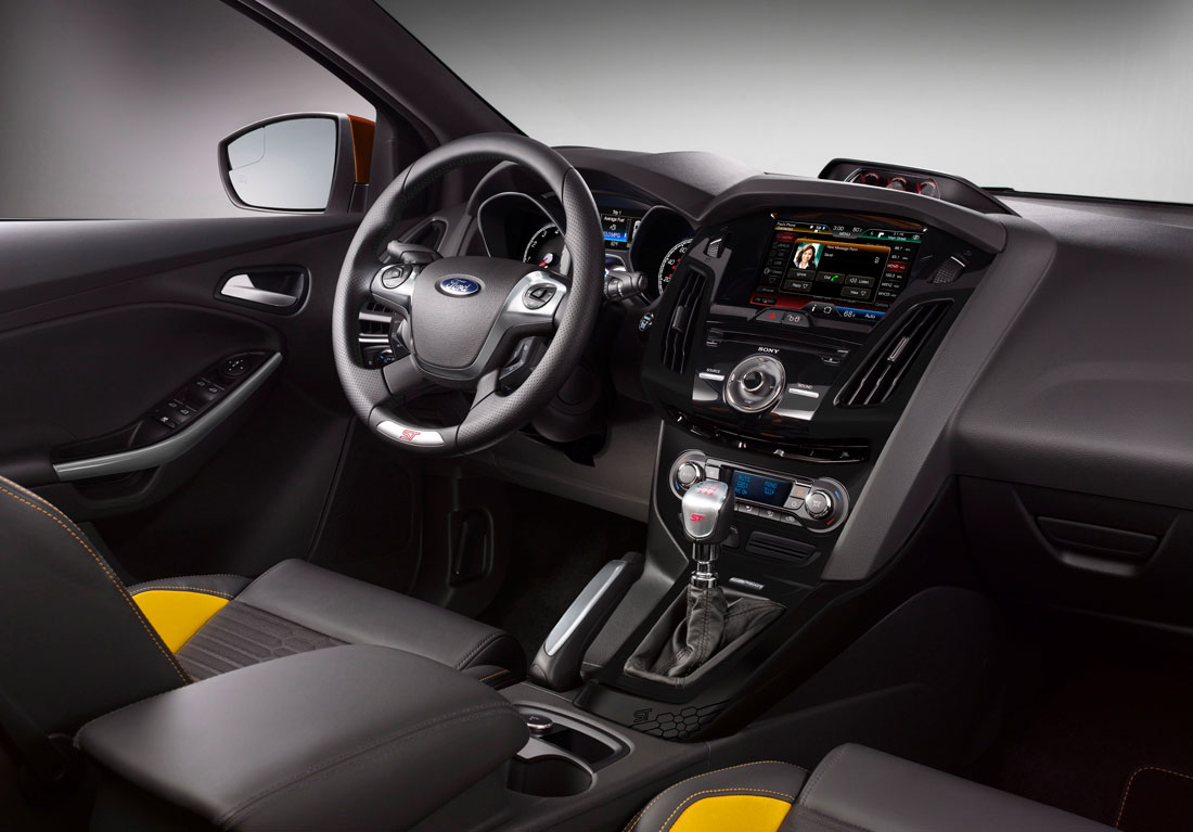 ford focus st  cartype