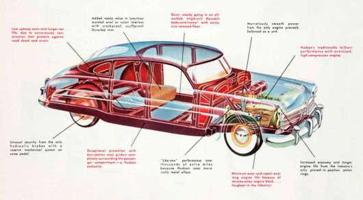hudson commodore sedancutaway 50