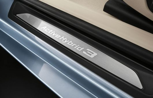 bmw active hybrid 3 door sill 12