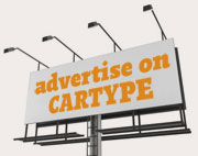 Advertise on Cartype