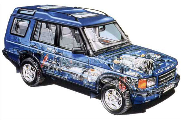 Land Rover Discovery 1992. Land Rover Discovery.