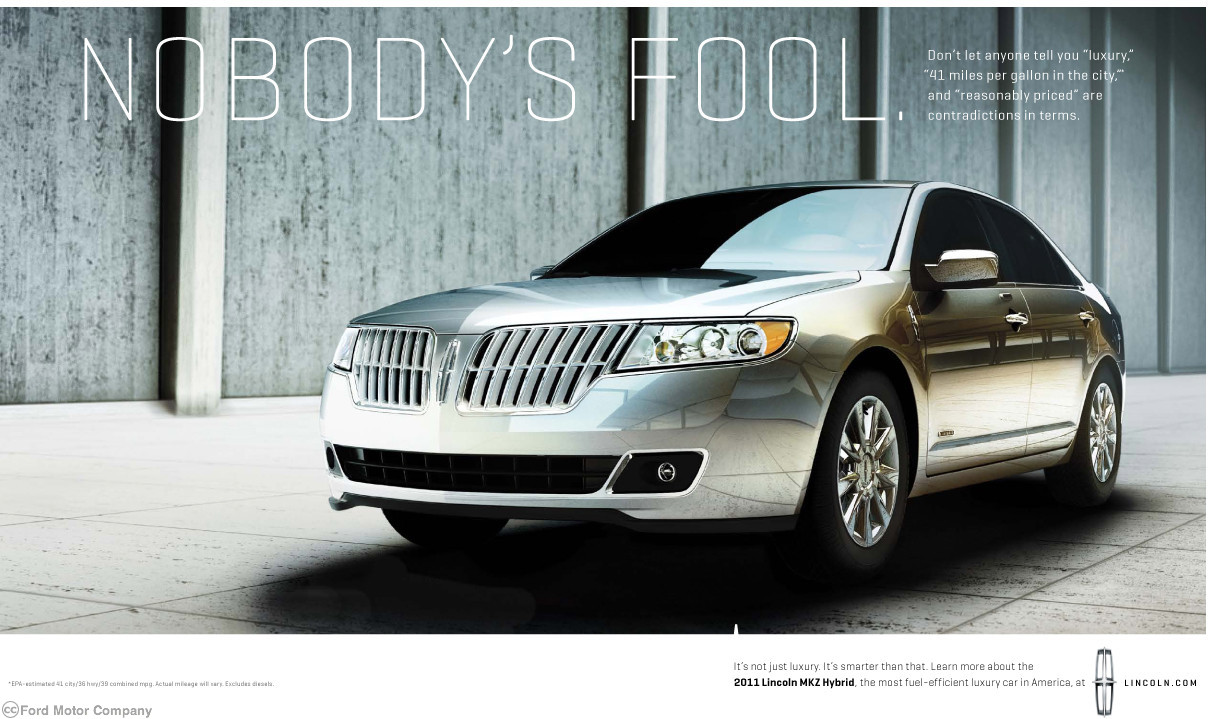 Lincoln ads   Cartype