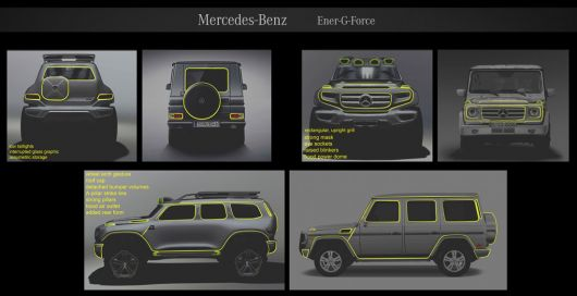 mercedes benz ener g force study 12