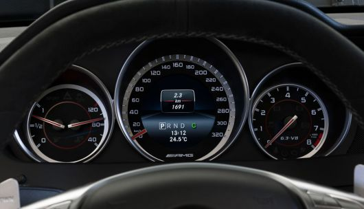 mercedes benz c63 amg edition 507 coupe gauge cluster 13