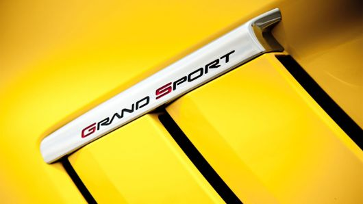 chevrolet grand sport coupe emblem 13
