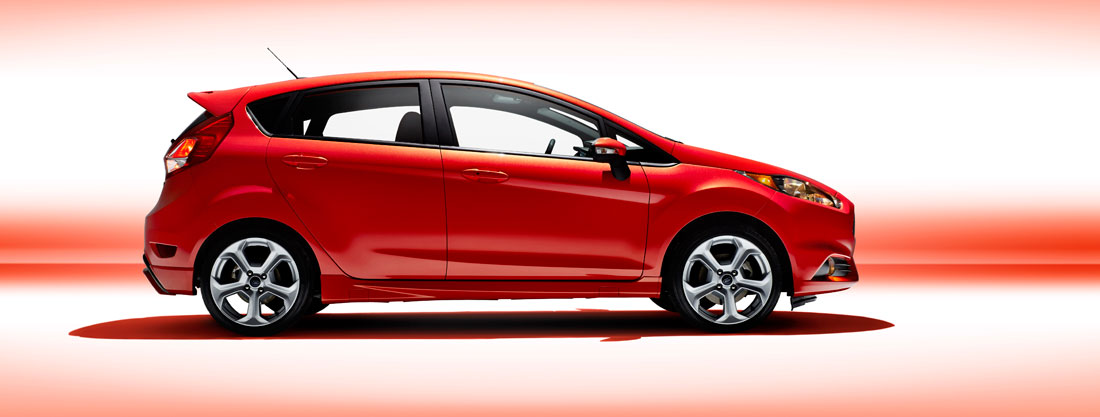 2014 Ford Fiesta ST 5-door hatchback