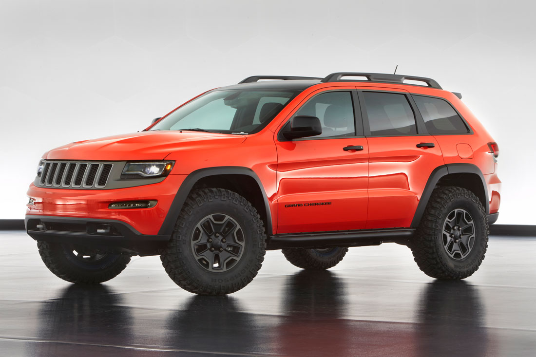 Interior Of A Jeep Grand Cherokee >> Jeep® and Mopar Reveal Six New Concept Vehicles | Cartype