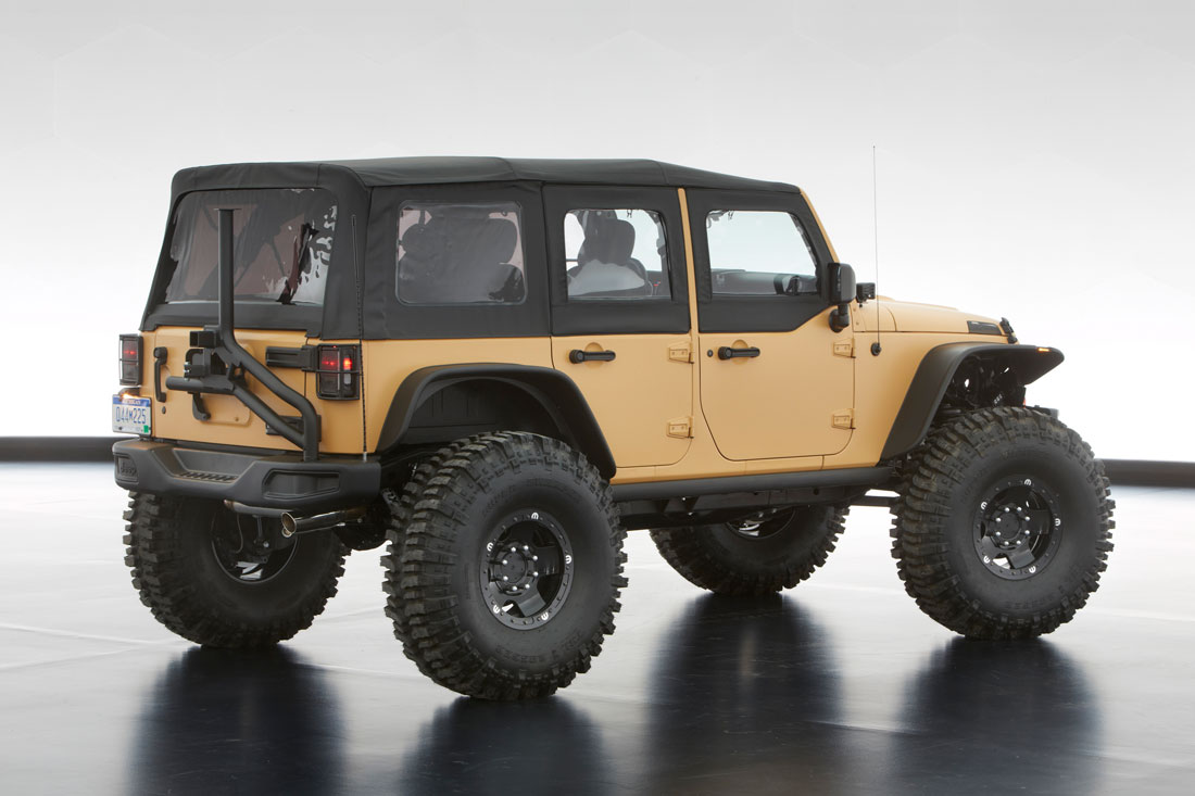Jeep 174 And Mopar Reveal Six New Concept Vehicles Cartype