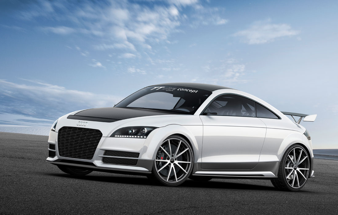 audi tt ultra quattro concept 2013 cartype. Black Bedroom Furniture Sets. Home Design Ideas