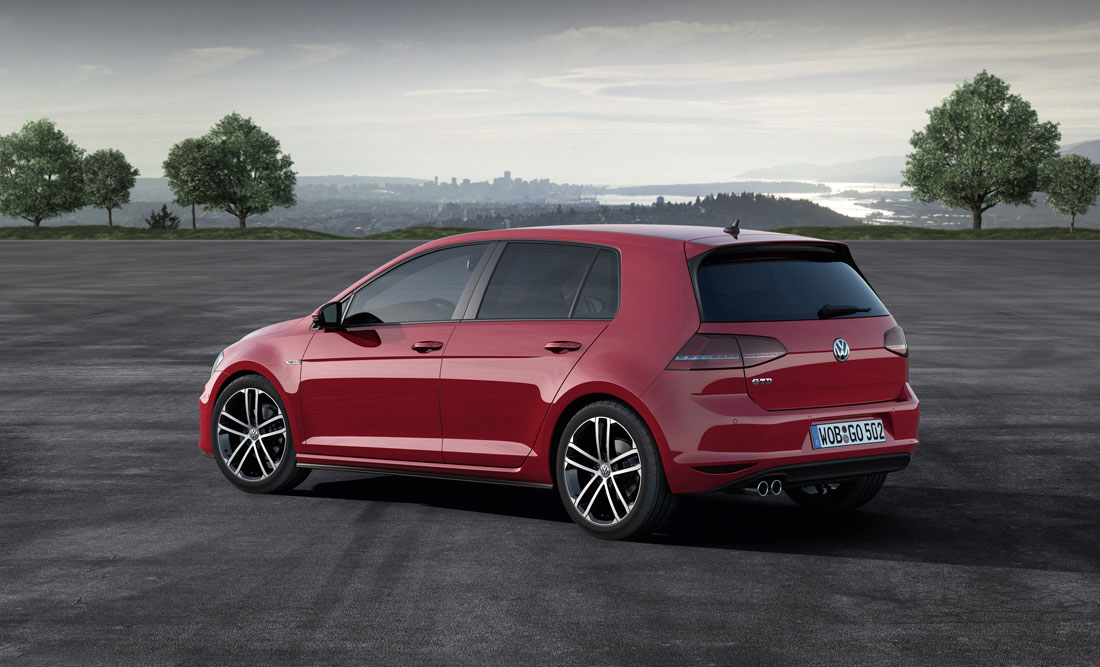 2014 Volkswagen Golf five-door GTD.