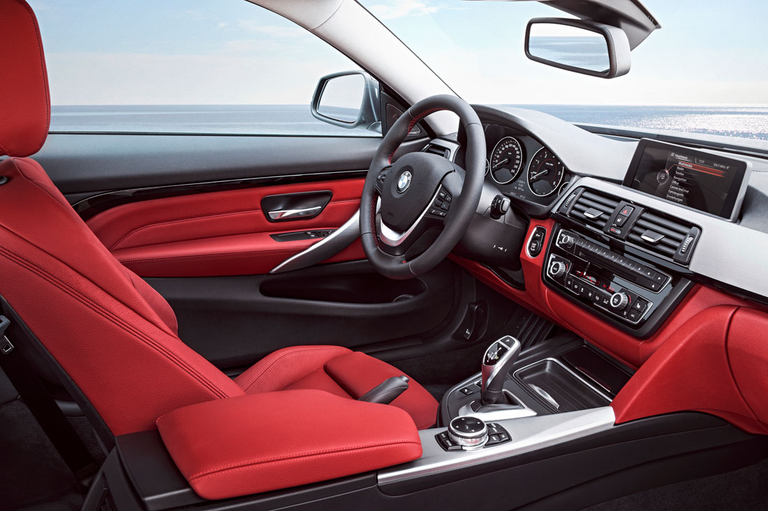 2014 BMW 4 Series Interior Bmw 435i Sport Line Lg 14 08