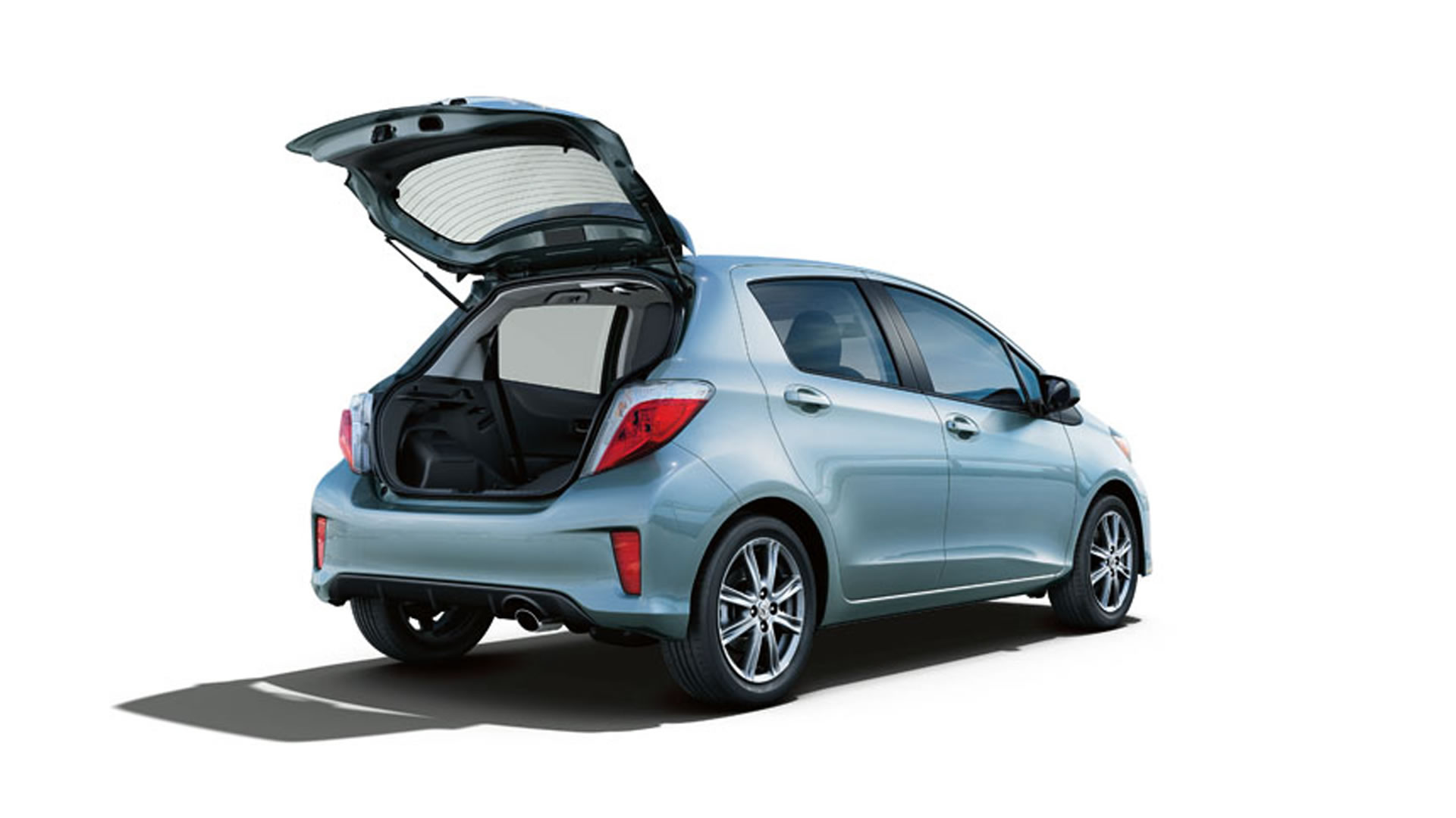 2013 Toyota Yaris 5-door hatchback