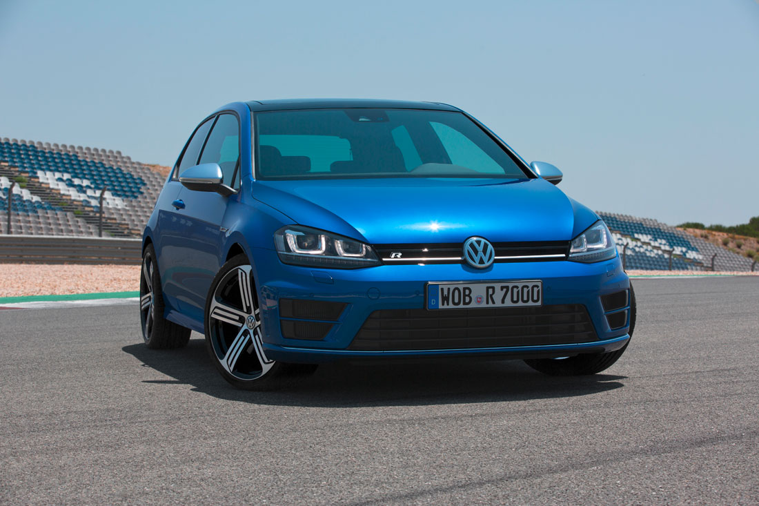 2014 Volkswagen Golf R.