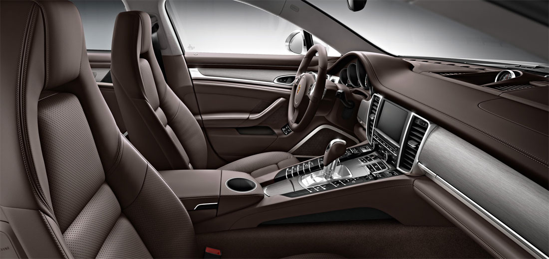 Porsche Panamera Turbo Executive In1 14 2014 Interior