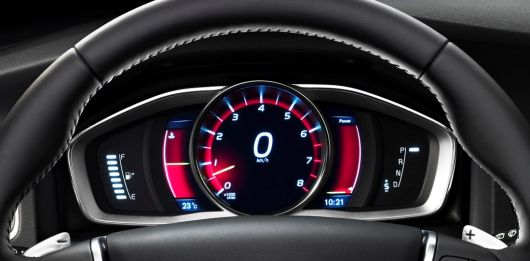 volvo v60 sports wagon gauge cluster 14