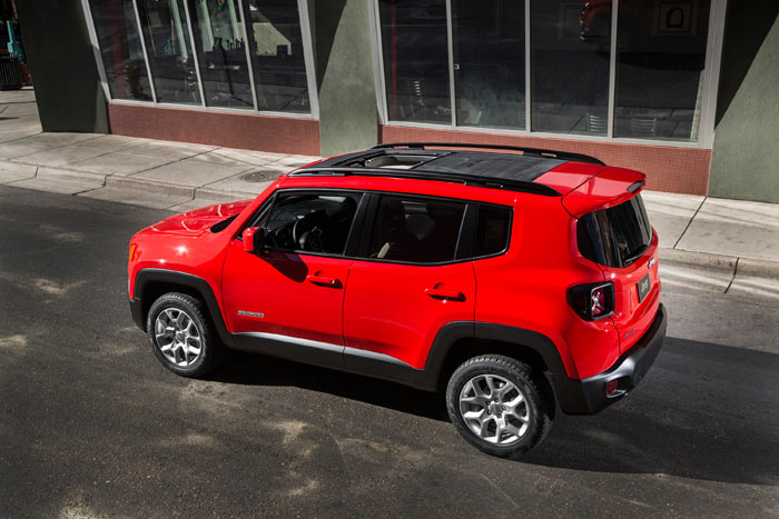 Electronic Stability Control >> Jeep Renegade : 2015 | Cartype