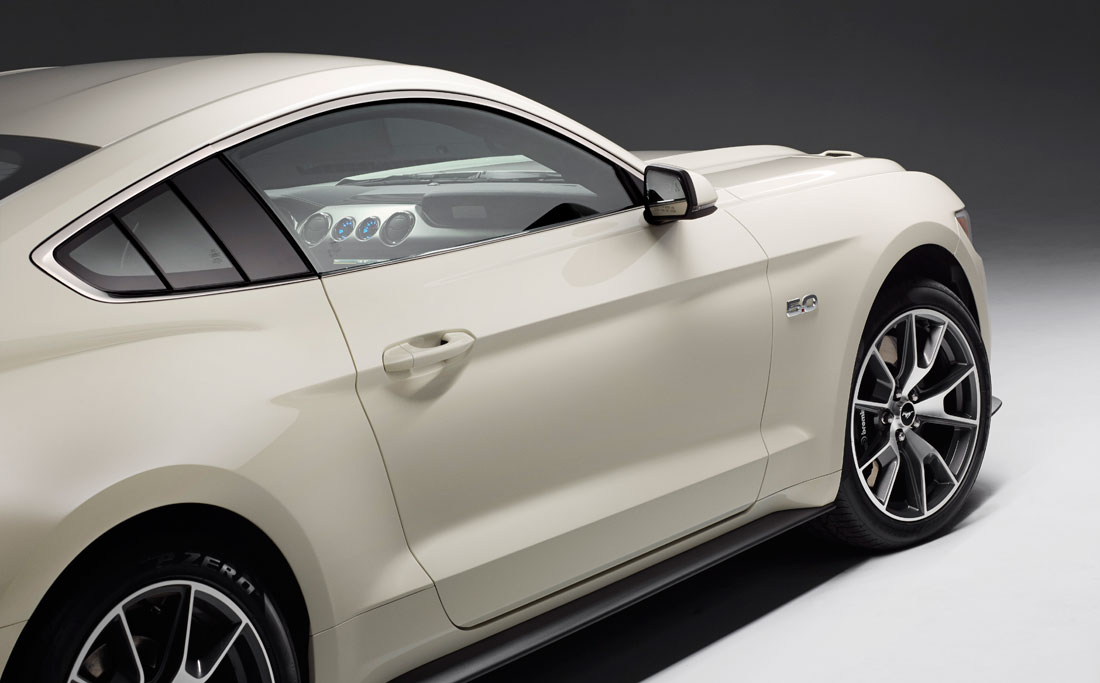 Ford Mustang 50 Year Limired Edition 15 07