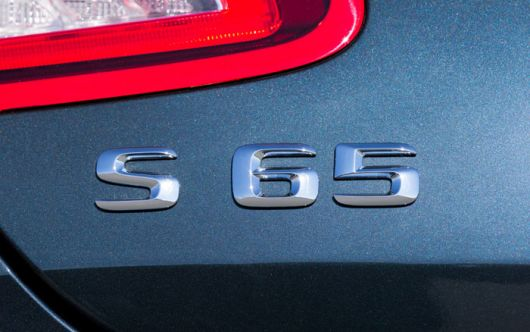 mercedes benz s65 amg coupe emblem 15