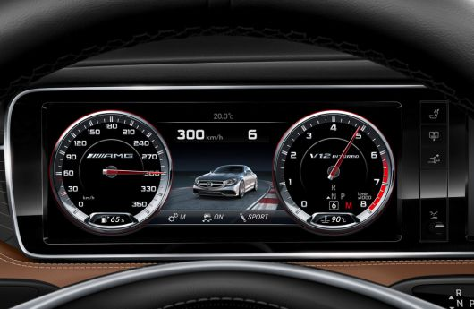 mercedes benz s65 amg coupe gauge cluster 15