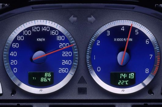 volvo r gauges