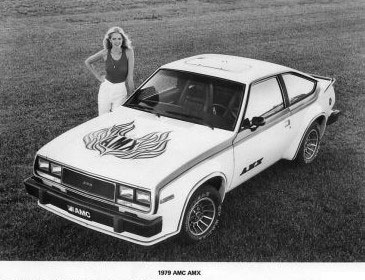 Amc Spirit Amx 1979 Cartype