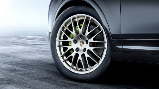 porsche cayenne platinum edition wheel 17