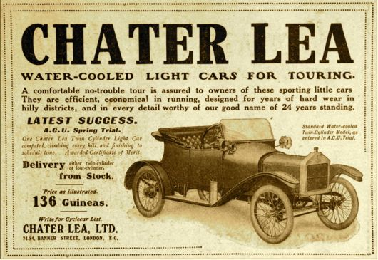 chater lea touring ad
