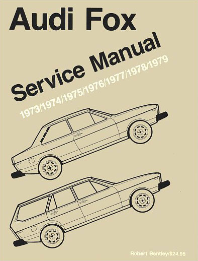 audi fox service manual lg