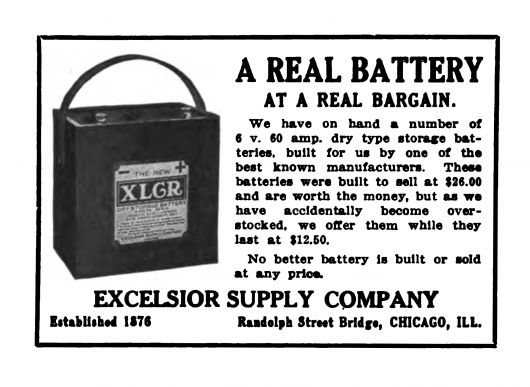 excelsior ad 1911